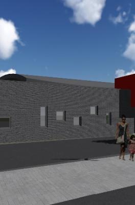 Construction d'une crèche à Stavelot (projet en cours)