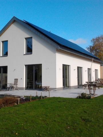 VDN construction d'une habitation à énergie positive à Villers-la-Ville