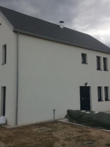 DES construction d'une maison NZEB à Piétrain